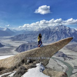 Hussainabad Rocks Formation – Skardu