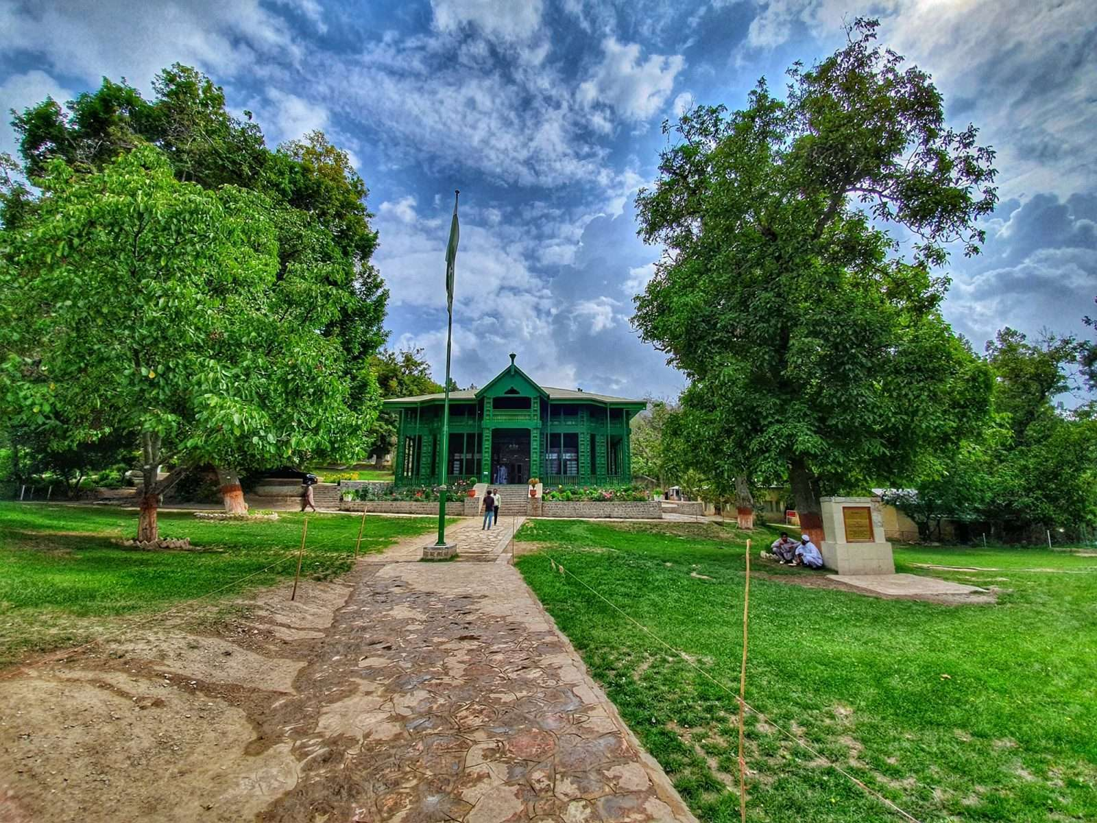 Quaid's Residency - Ziarat